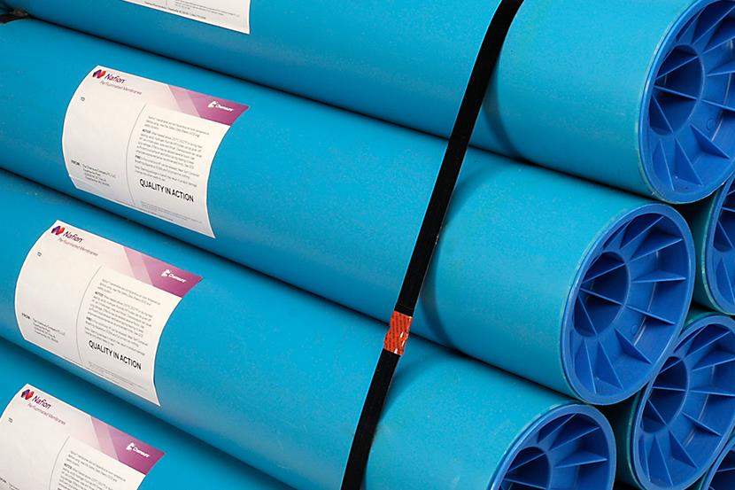rolls of nafion sulfonic membranes in cases